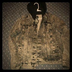 Other - Acid wash jean jacket
